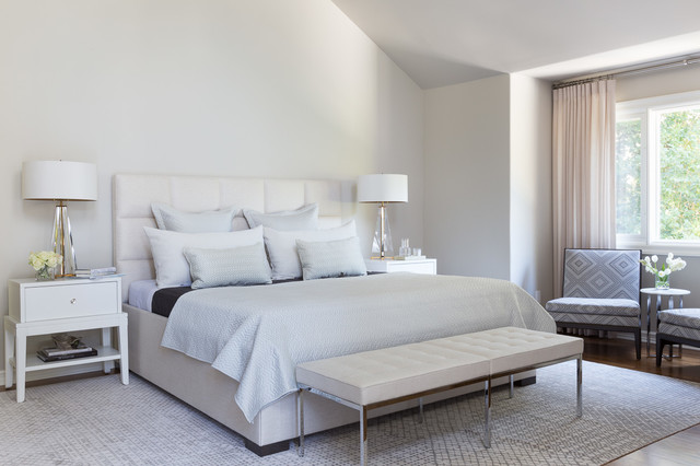 Atherton transitional-bedroom