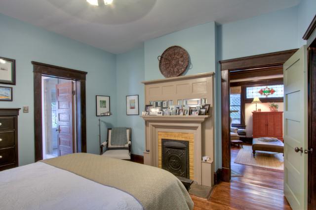 Atlanta Bungalow Renovation Craftsman Bedroom