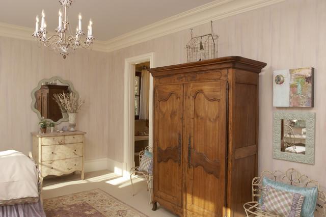 Atlanta Christmas Show House - Girls Bedroom & Bath traditional-bedroom