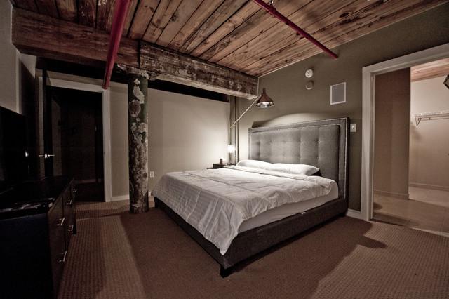Atlanta Fulton Cotton Mill Lofts Industrial Living Room Atlanta By Heirloom Design Build Houzz Au