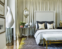 Atlanta Homes & Lifestyles Christmas Showhouse eclectic-bedroom