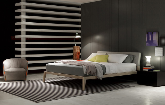 Aton Bed - Contemporary - Bedroom - by Poliform USA