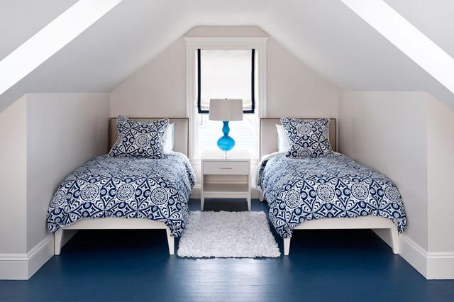 Attic Bedroom Contemporary Bedroom Boston By
