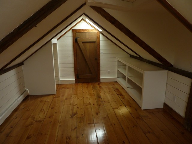 Attic Conversion traditional-bedroom