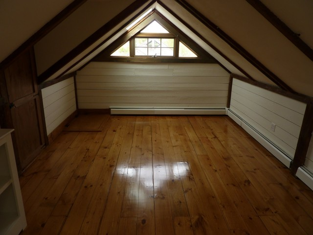 Attic Conversion Traditional Bedroom Boston By