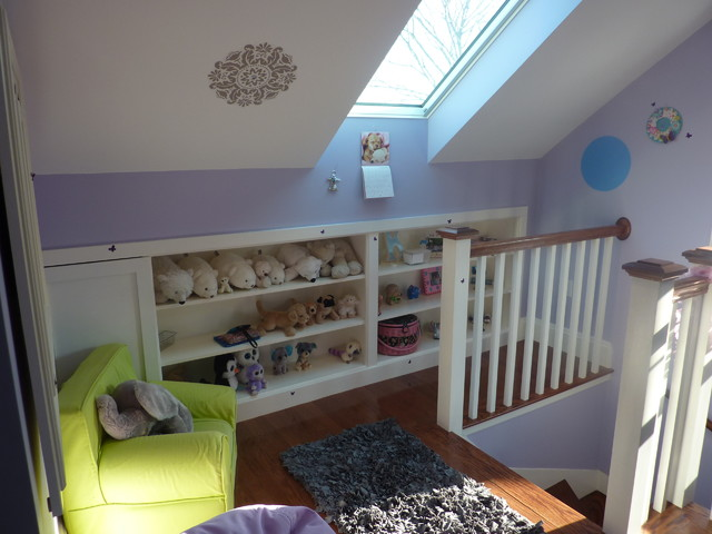 Attic Conversion Traditional Bedroom Boston By Custom Contracting Inc