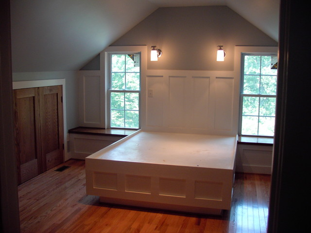 Attic conversion craftsman-bedroom