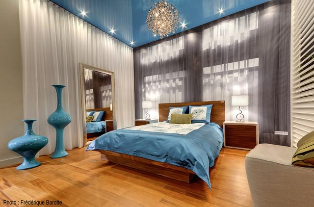 Attraction Salon rénovation et maison neuve 2013 modern-bedroom