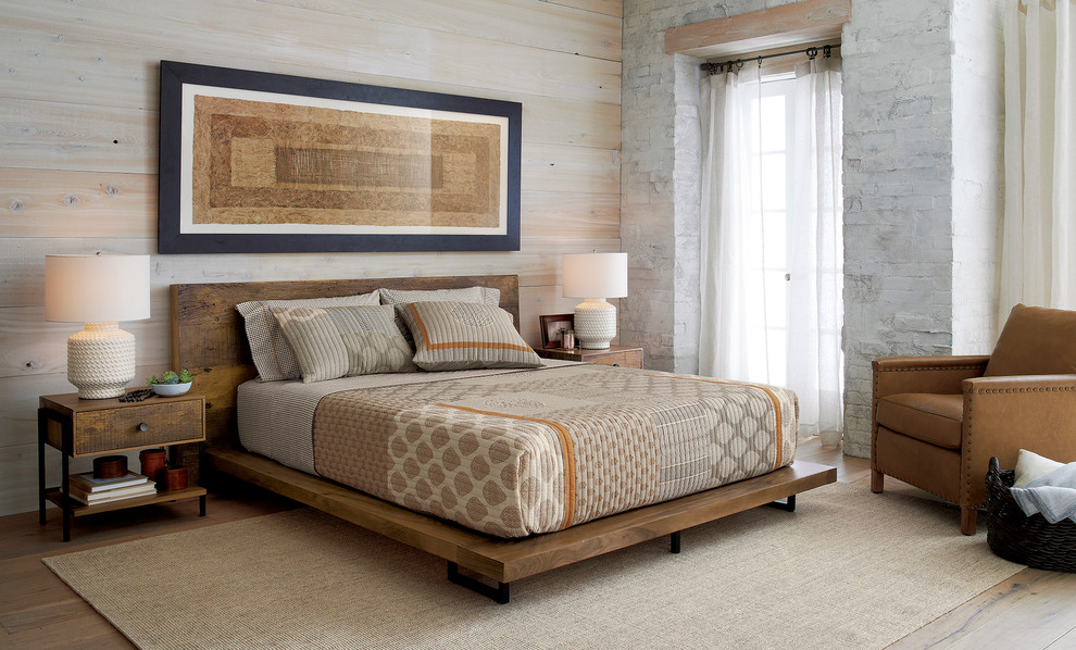 Atwood Queen Bed Without Bookcase, Queen Bed No Footboard