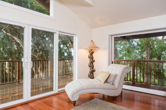Auloa Mist - Master Suite Remodel tropical-bedroom