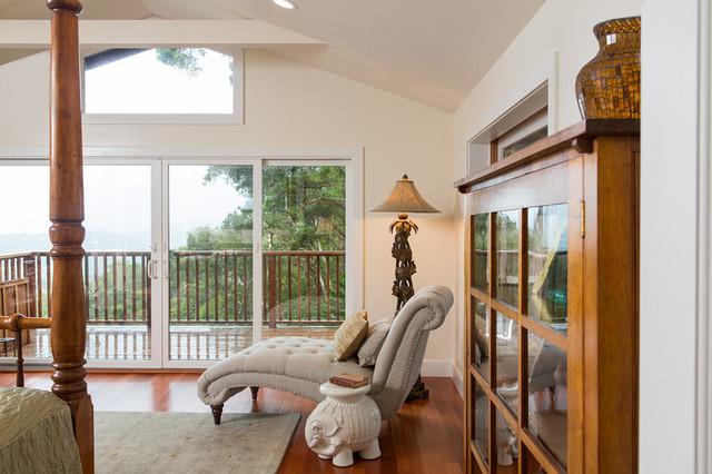 Auloa Mist - Master Suite Remodel eclectic-bedroom