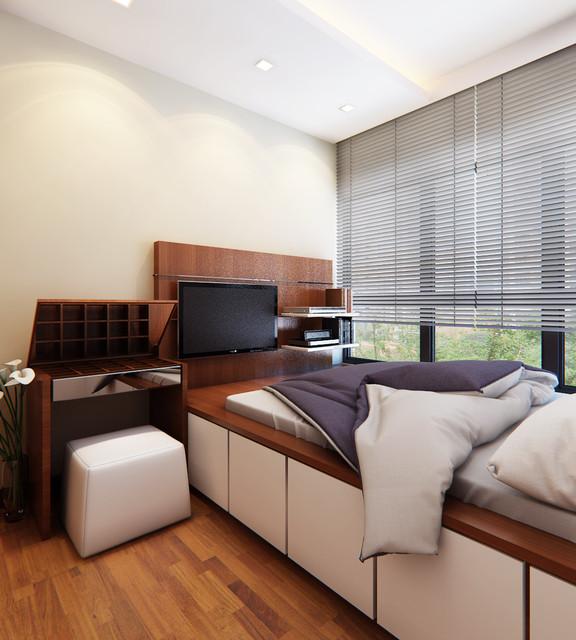 Singapore Interior Design Ideas: Austville Singapore