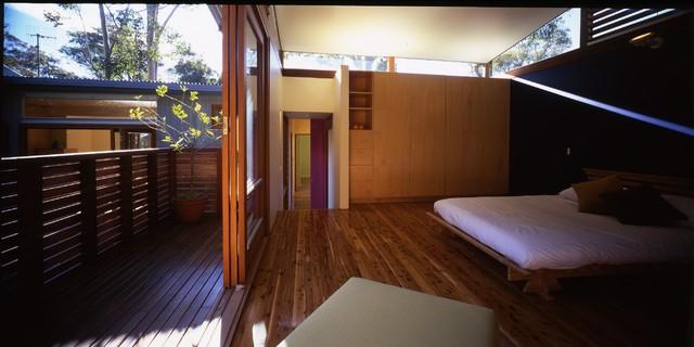 Avalon Beach House beach-style-bedroom