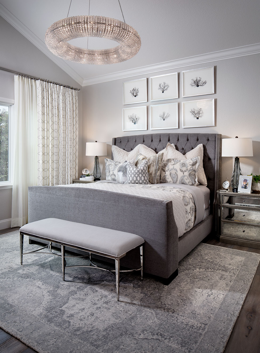 9 Beautiful Gray Bedroom Pictures & Ideas - January, 9  Houzz