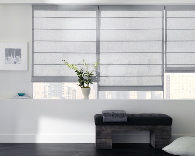 Aventura Roman Shade - Roman Shades - new york - by The Shade Store