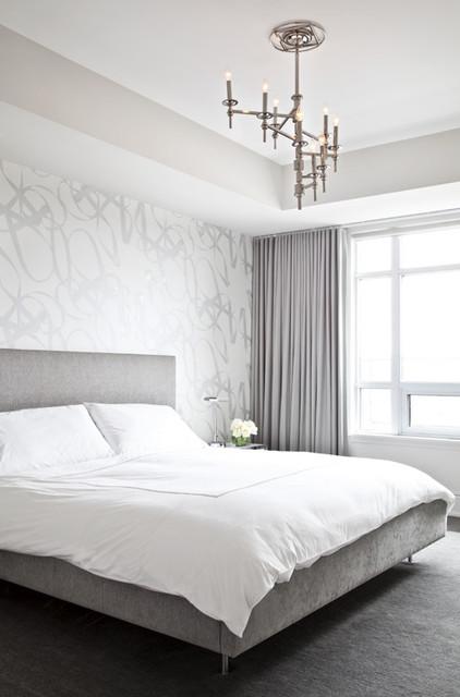 Avenue Road Condo contemporary-bedroom