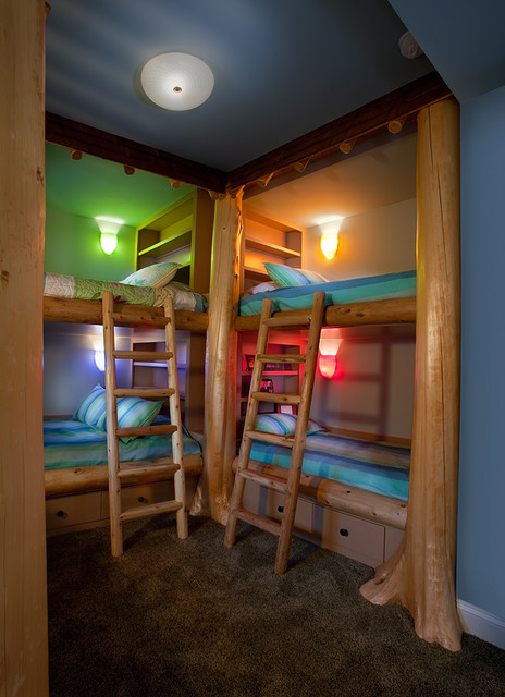 Bunk Room traditional-bedroom