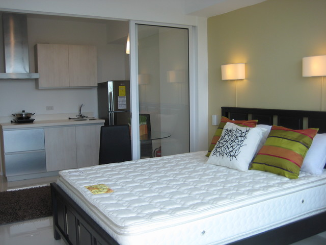 Azure Urban Resort-studio unit design asian-bedroom