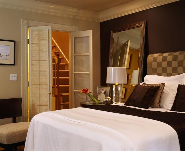 Bachelor Pad traditional-bedroom