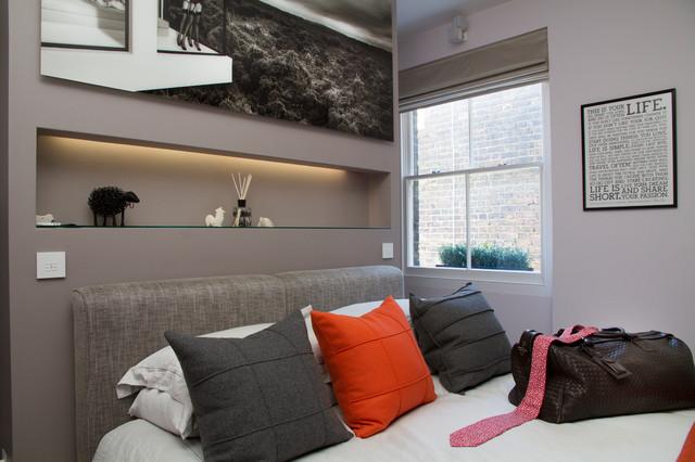 Bachelor Pad Modern Bedroom London By Katy Ellis