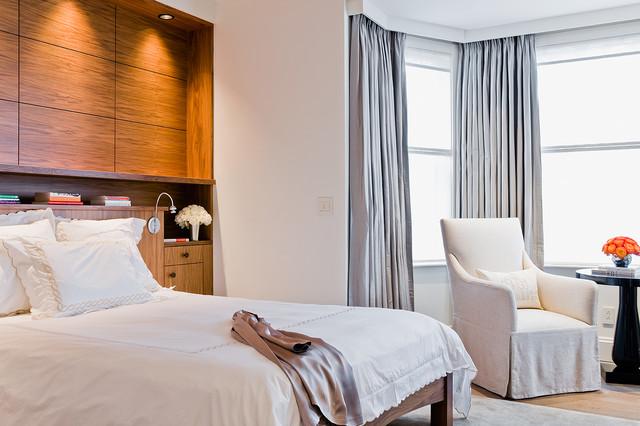 Back Bay Apartment Modern Bedroom Boston By David Sharff Architect P C