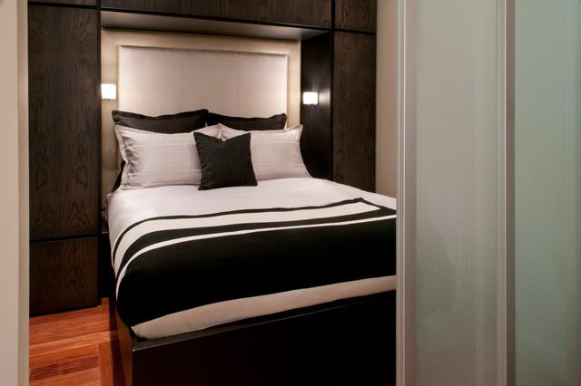 Back Bay Condo contemporary-bedroom