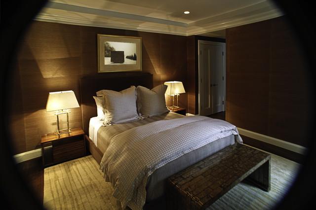 Back Bay Master Bedroom contemporary-bedroom