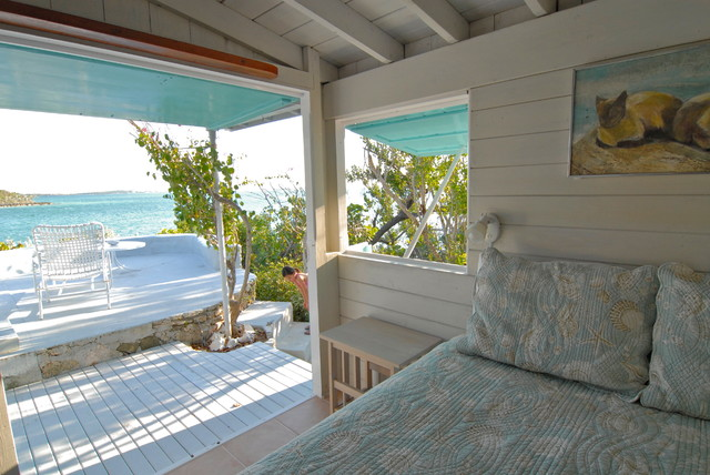 Tropical Bedroom by Brenda Olde