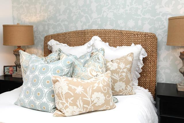 Elegant bedroom photo in Orange County