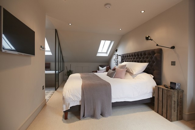 Balham Loft Conversion Transitional Bedroom London