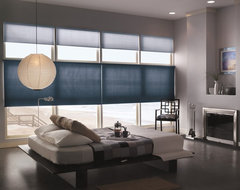 Bali DiamondCell Light Filtering Honeycomb Shades modern bedroom