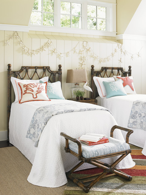 Bali Hai Coastal Guest Room Coastal Bedroom Orange