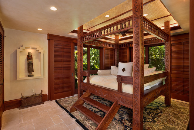 Bali House - Tropical - Bedroom - hawaii - by Rick Ryniak Architects