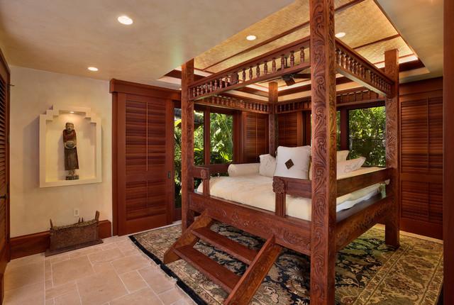 Bali House Kolonialstil Schlafzimmer Hawaii Von Rick - Schlafzimmer im kolonialstil