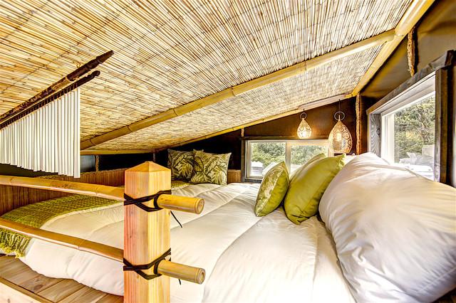 Design Ideas For A Small World Inspired Mezzanine Bedroom In Portland