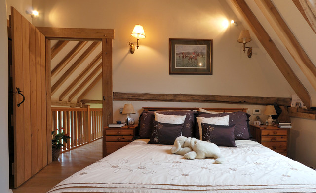 Barn Conversion in Kent, UK - rustic - bedroom - london - by