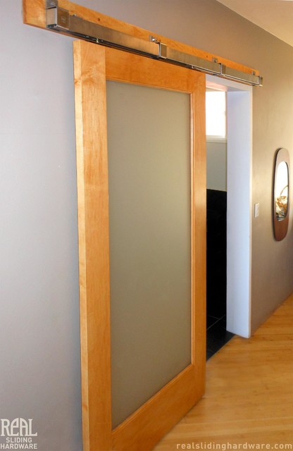 barn door hardware asian bedroom seattle by real