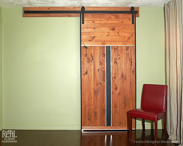 Barn Door Hardware Eclectic Bedroom Other Metro By