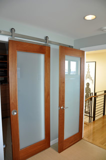 Barn Door Contemporary Bedroom Seattle By Ventana