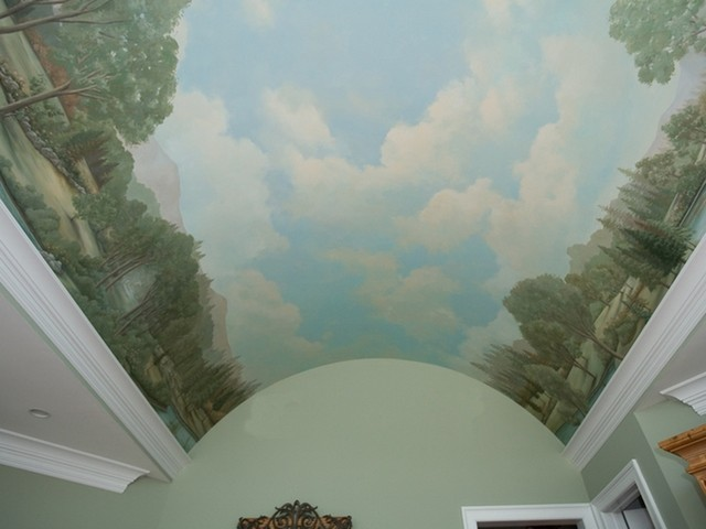 Barrel Ceiling traditional