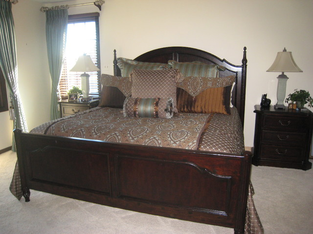 Barrington Bedroom Traditional Bedroom Chicago By Katie Drake With Walter E Smithe