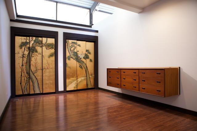 Barrington Renovation- Guest House modern-bedroom