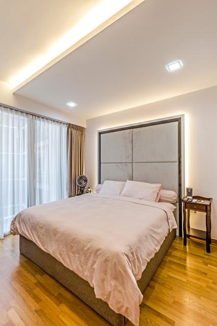 Bartley Residences contemporary-bedroom