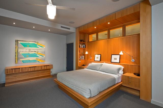 Barton creek contempor neo dormitorio austin de - Houzz dormitorios ...
