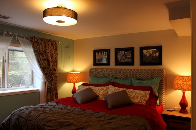 basement apartment contemporary bedroom denver by