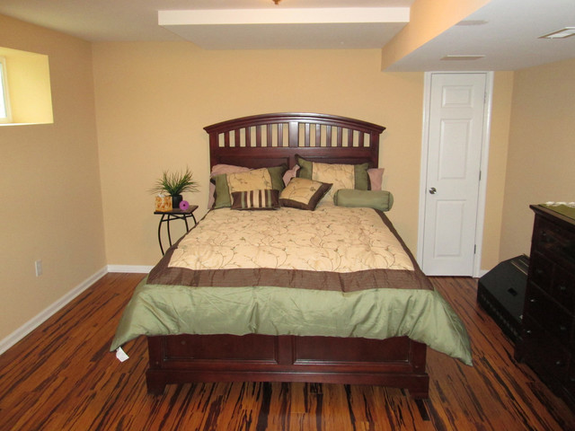 Basement renovation in mount airy md traditional for Airy bedroom ideas