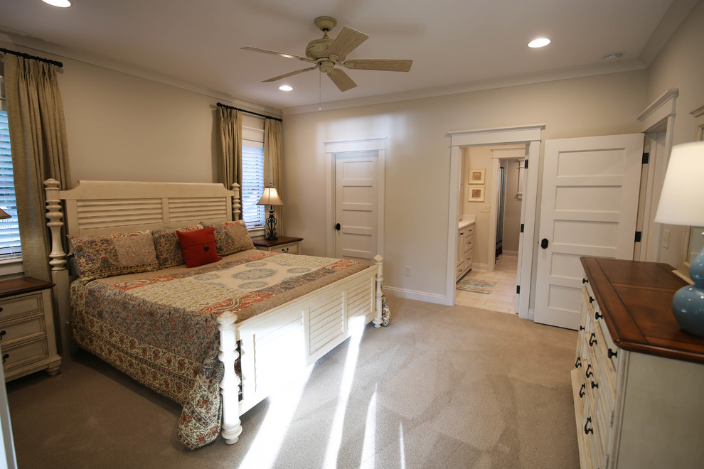 Inspiration for a timeless bedroom remodel in Other