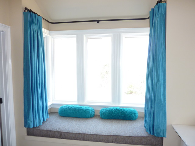 Bay Window Bedroom bay window - contemporary - bedroom - los angeles -janice