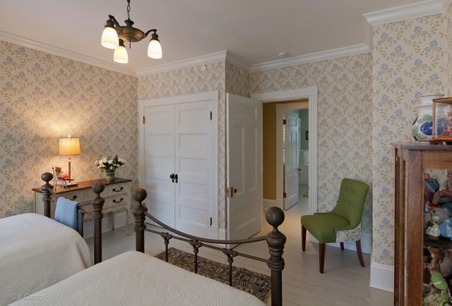 Bayview Victorian Restoration traditional-bedroom
