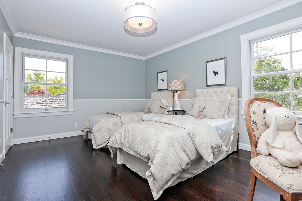 Bedroom - transitional bedroom idea in Other